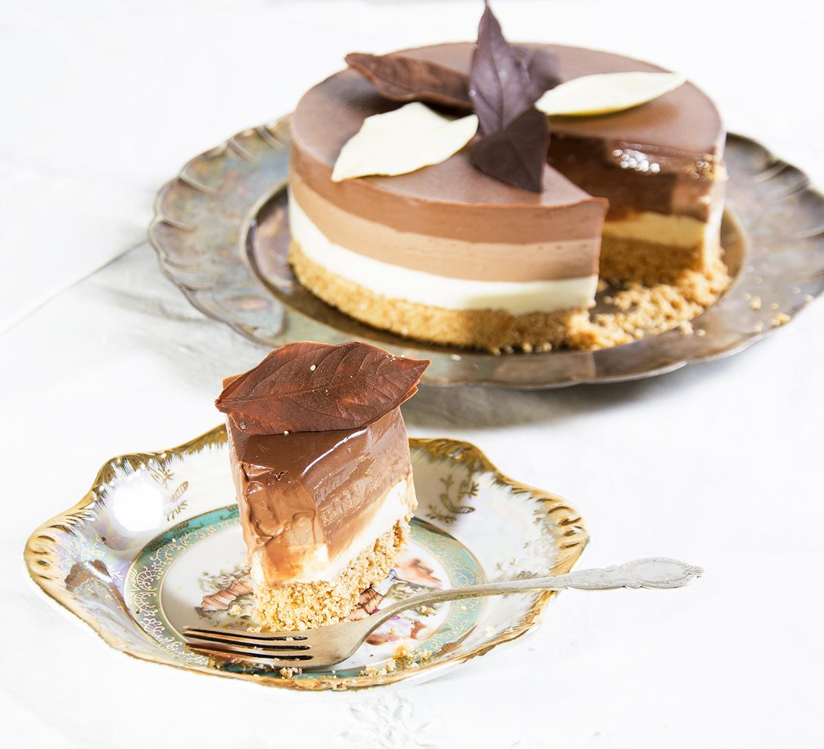tarta de tres chocolates 4
