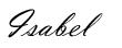 firma recortada