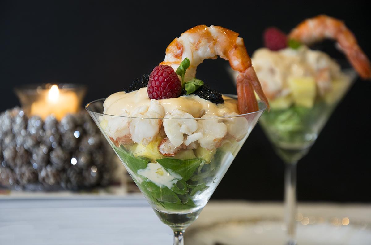 C ctel de pi a y gambas f cil la cocina de frabisa la cocina de frabisa - Coctel de marisco ingredientes ...