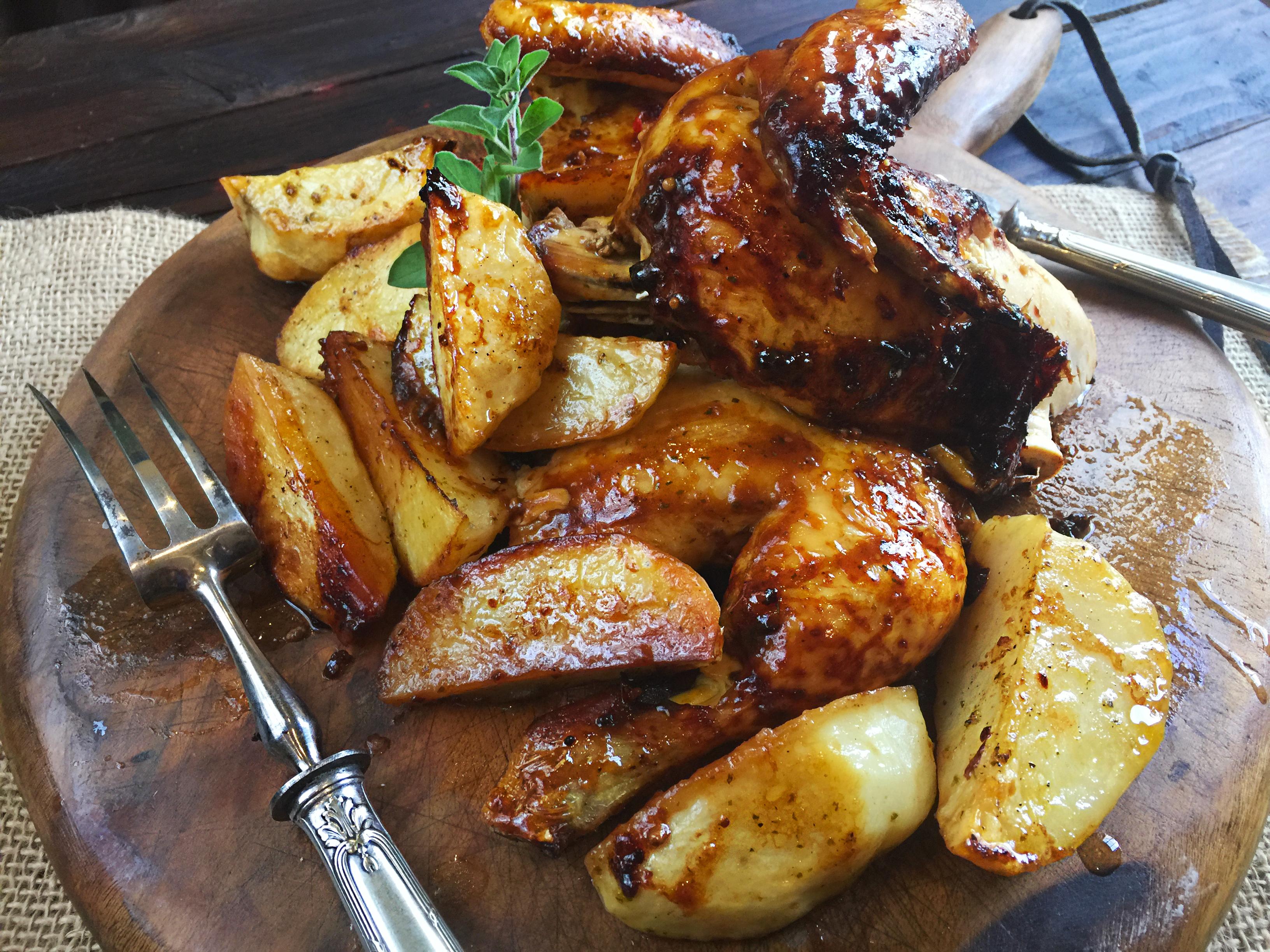 Pollo asado con Salsa Barbacoa - La Cocina de Frabisa La Cocina de ...