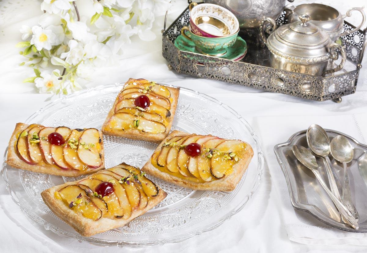 Tartaletas De Hojaldre Crema Y Manzana La Cocina De Frabisa La Cocina De Frabisa