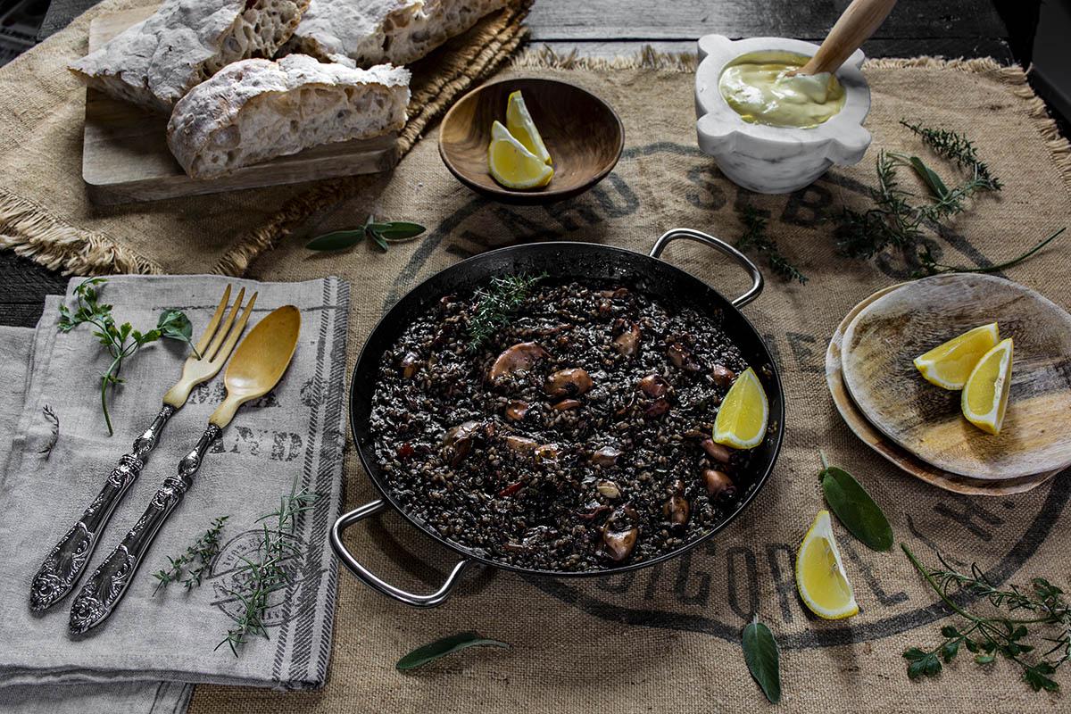 Arroz negro con chipirones - La Cocina de Frabisa La