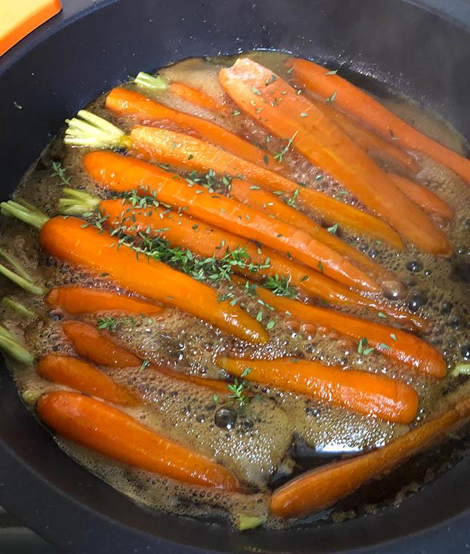 Zanahorias Confitadas Al Tomillo La Cocina De Frabisa La Cocina De Frabisa Zanahorias vichy de diversos colores. zanahorias confitadas al tomillo la