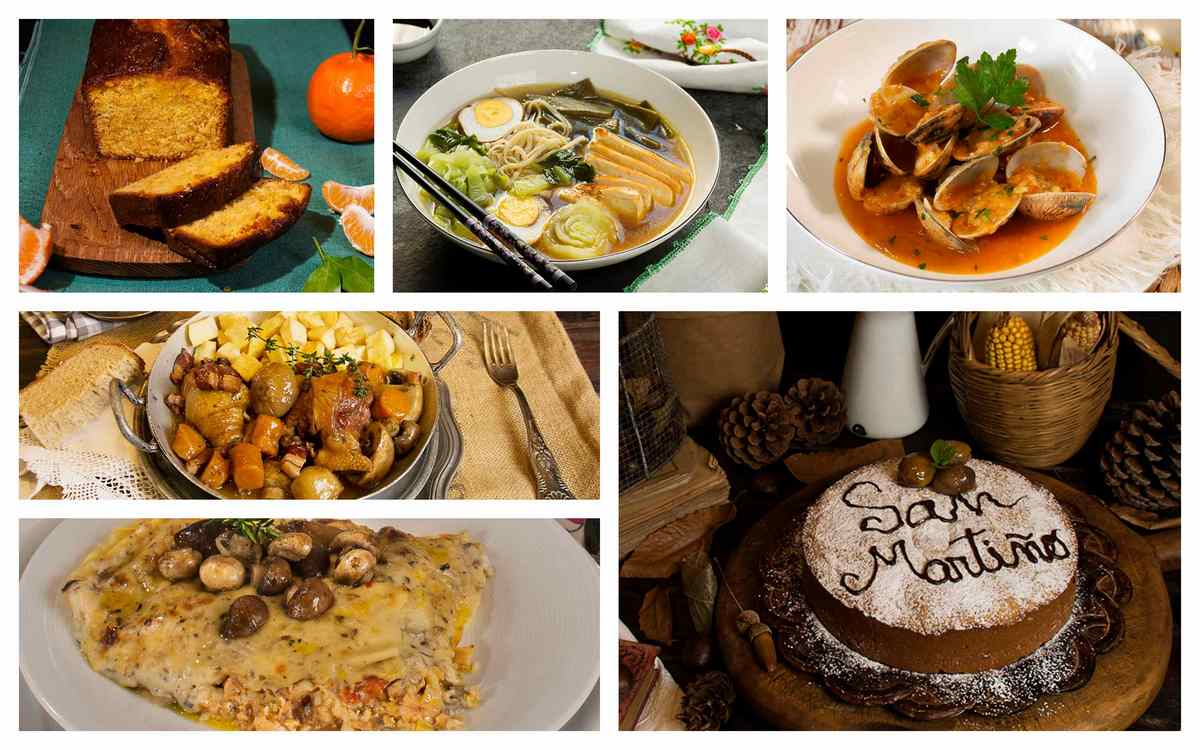 Semanal economica menu cocina