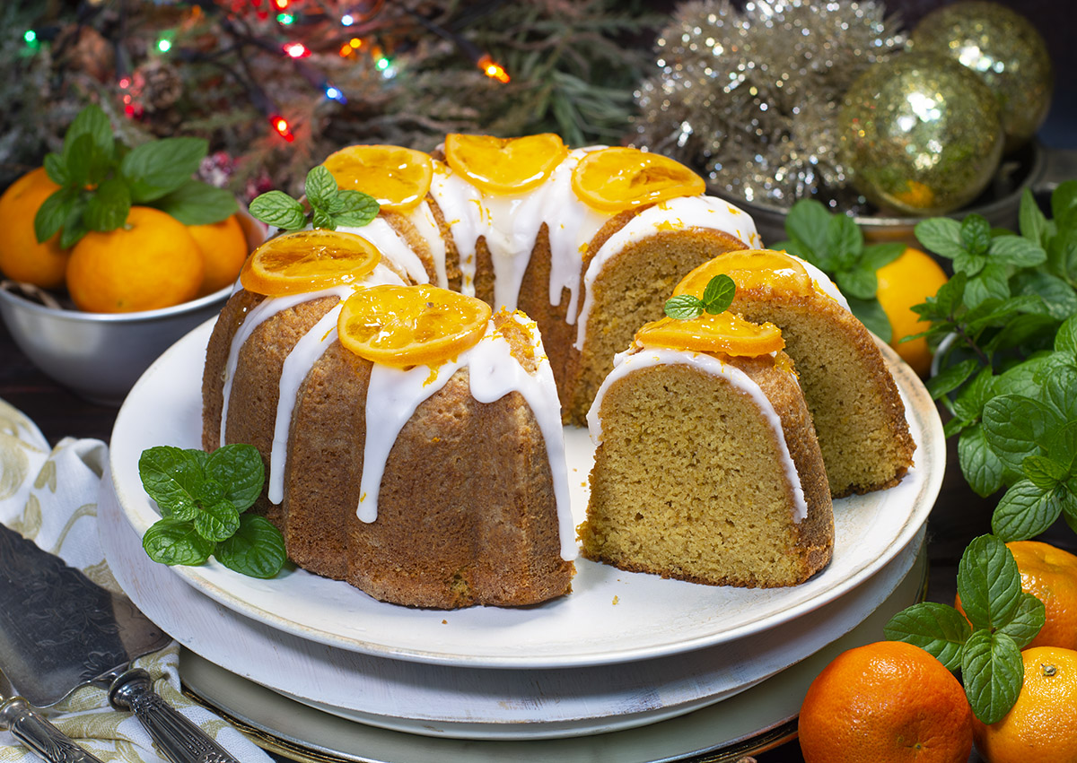 Bizcocho Bundtcake De Mandarina Navidad La Cocina De Frabisa La Cocina De Frabisa